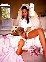 22 pictures - Naughty Brides upskirt photos