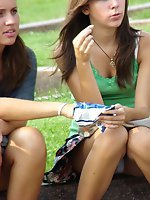 Upskirt pictures - Teen public upskirts, and some downblouses
