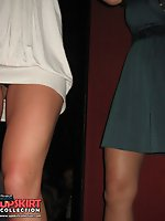 Upskirt pictures - Upskirts panty shots, of girls in mini skirts