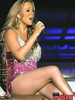 20 pictures - Upskirt archive of Mariah Carey