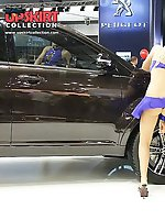 Upskirt pictures - Hot upskirt girls at auto show
