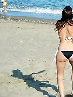 12 pictures - Swimsuit teens have fun on weekend